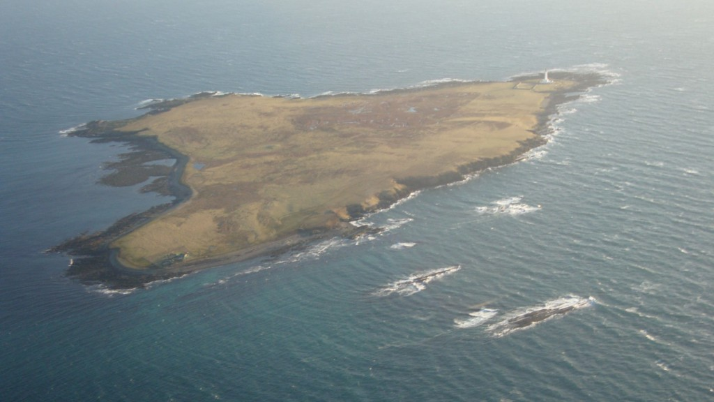Island Ariel View